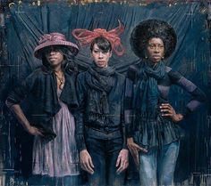 African-American Women Through Eyes Of Multiracial Artist  TIM OKAMURA  THE MANY WAYS OF BROOKLYN WOMEN
