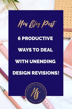 Check out the 6 ways in which you can cut down design revisions in your creative business. #freelance #tips #feedback #creatives #businesstips #creativebusinesses #soloprenuers