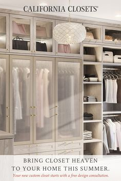 Custom Closets California