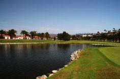 Maspalomas Golf Course Lake  http://travellingwizards.com/golf/maspalomas-golf