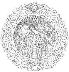 Asian Coloring Pages The Southwest