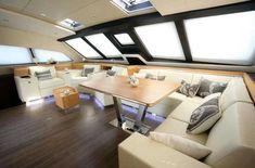 Privilege 64 Catamaran Salon