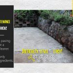 How to clean paving without a pressure cleaner Dishwashing Liquid, Diy Cleaners, Diy Cleaning Products, Outdoor Gardens, Household, How To Apply, Blog, Blogging