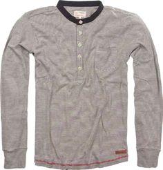 Long Sleeve Henley T-Shirt   Colibrì Fashion   Online Shop   London Fashion Boutique