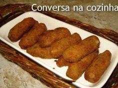 Receita Outro : Croquete de atum de Conversa na Cozinha