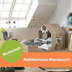 Como hacer una habitación Montessori. La importancia de preparar el ambiente en casa.