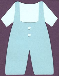 Baby Boy Jumper electronic cutter file perfect for greeting cards, invitations, and more.