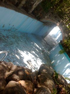 Johnny Weissmuller pool on his now long-abandoned Bel Air estate