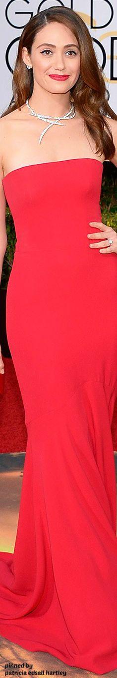 Emmy Rossum - 2016 Golden Globes