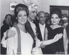Renata Tebaldi & Maria Callas