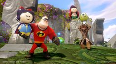 New Pictures  Video from Disney Infinity Toy Box mode