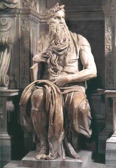 Statue of Moses by Michelangelo Buonarroti