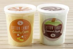 Fall Cotton Candy Duo | Chocolate Storybook We've captured the flavors of fall in our unique cotton candy.  Candy Corn and Caramel Apple are all the rage!