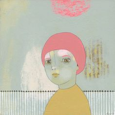 Lady- small original #art #painting via #Etsy. http://www.etsy.com/shop/jenniferdavis
