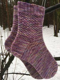 Ravelry: Drippity Drop Socks pattern by Kay F Jones