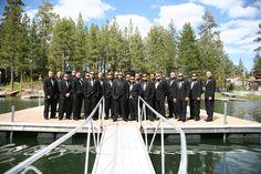 Alot of groomsmen