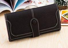 8ec8d6b0099 Dámská peněženka se zapínáním černá – dámské peněženky Na tento produkt se  vztahuje nejen zajímavá sleva