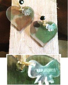Nieuw!!! Camouflage hart... #like4like #instalike #camouflage #hart #harthart #exclusive #fashion #woman #lasertag #lasercut #lasercutting #lasercutjewelry #oorbellen #earrings #jewelry #love #loveit by vip_jewels