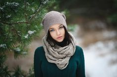 Winter girl - null