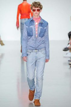 Katie Eary | Spring 2015 Menswear Collection | Style.com