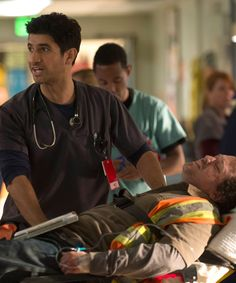 """""""Code Black"""" is a hospital procedural that brings something new to the table. Inspired by a documentary about Los Angeles County Hospital, the show is a gritty drama that follows the lives of the doctors as well as the patients. Actor Raza Jaffrey of """"Homeland"""" and """"Elementary"""" plays Dr. Neal Hudson."""