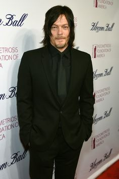 Norman Reedus Photos: 7th Annual Blossom Ball Benefiting the Endometriosis Foundation of America Hosted By EFA Founders Padma Lakshmi And Tamer Seckin, MD - Arrivals