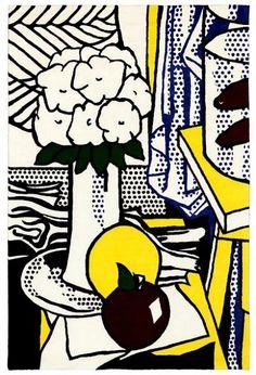 Roy Lichtenstein    Wool Rug with Still Life    20th century