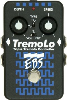 EBS TremoLo Triple Bass Tremolo Controller Pedal with Stereo Out by EBS. $189.00. Save 53%!