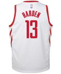 Nike James Harden Houston Rockets Association Swingman Jersey, Big Boys (8-20) - White XL
