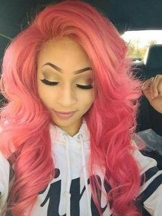 StrawBerri in Caribbean Connection / Diary of The Naughty Caribbean Girls Trendy Hairstyles, Weave Hairstyles, Girl Hairstyles, Big Chop, Hair Colorful, Bright Hair, Blond, Vivid Hair Color, Goddess Hairstyles