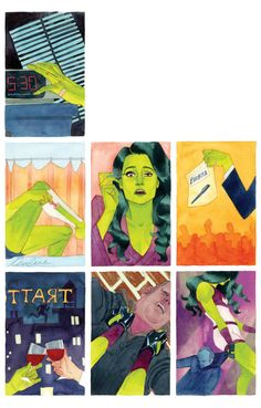 She-Hulk #2 cover by Kevin Wada