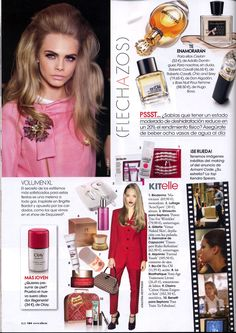 """En la revista Elle mencionan Timexper Refinition, en un conjunto """"Kit elle"""" nos encantan sus """"Flechazos de la revista"""""""