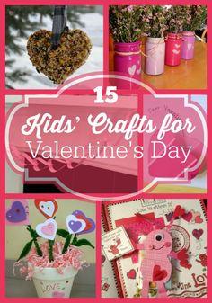 15 Valentine's Day Crafts