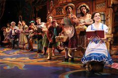 """Beauty and the Beast Broadway Tour- """"Look there she goes that girl who's strange but special"""""""
