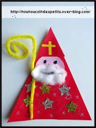 pour la st nicolas - New Ideas Christmas Arts And Crafts, Preschool Christmas, Preschool Crafts, Christmas Ornaments, St Nicholas Day, Diy Cadeau Noel, Diy And Crafts, Crafts For Kids, Art For Kids