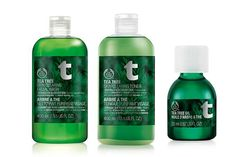 The Body Shop Tea Tree Oil Collection