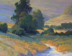A Quiet Days End by Kim Lordier Pastel ~ 24 x 30