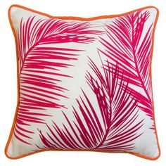 Add vibrant colour to your outdoor patio furniture with this bright toss cushion. Perfect for outdoor use, this beautiful cushion will lend style to your outdoor living space. Deep Seat Cushions, Outdoor Chair Cushions, White Cushions, Throw Cushions, Pillows, Indoor Outdoor, Outdoor Decor, Outdoor Living, Patio Umbrellas