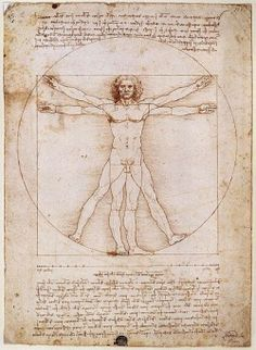 Leonardo da Vinci - Vitruvian Man - 1492