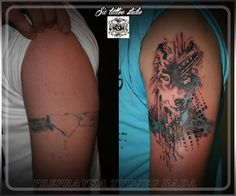 cover up...abstract wolf