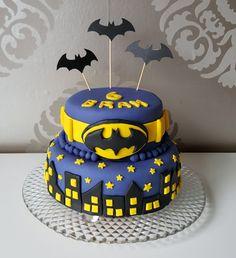 Batman Birthday Cakes, Batman Cakes, 5th Birthday, Birthday Ideas, Lego Batman, Cake Creations, Happy Thoughts, Biscuit, Fondant