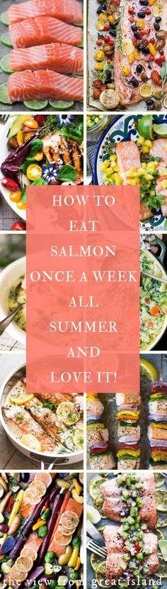 Salmon all Summer ❤️