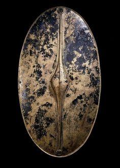 c.400-250 BCE. The Chertsey Shield. Iron Age Britain. The British Museum