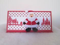 CARTE POCHETTE CADEAU Père Noël BILLET CHEQUE ou place de concert à offrir    Emballages cadeaux e03b5dd1980
