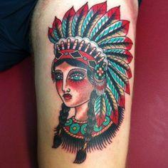 52 Tatuagens de Índios para se inspirar                              …