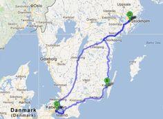 Roadtrip en Suède et au Danemark Road Trip France, Stockholm, Voyage Suede, British Isles, Van Life, Wonders Of The World, Scandinavian, Places To Go, Around The Worlds