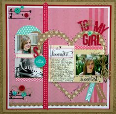 Layout: To My Girl *Elle's Studio*
