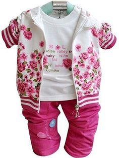 Kid bébé filles Tops Print noeud papillon ruché globale pantalon