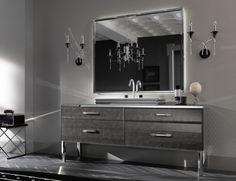 Italian Manufacturer Branchetti Brings This Beautiful Leather Adorable Bathroom Vanities Luxury Decorating Design