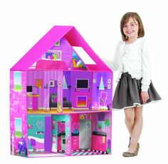 Inexpensive Modern Dollhouse for Barbie Size Dolls Best Toys for 7 Year Old Girls - The Perfect Gift Store